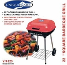 "22"" Square BBQ Grill"