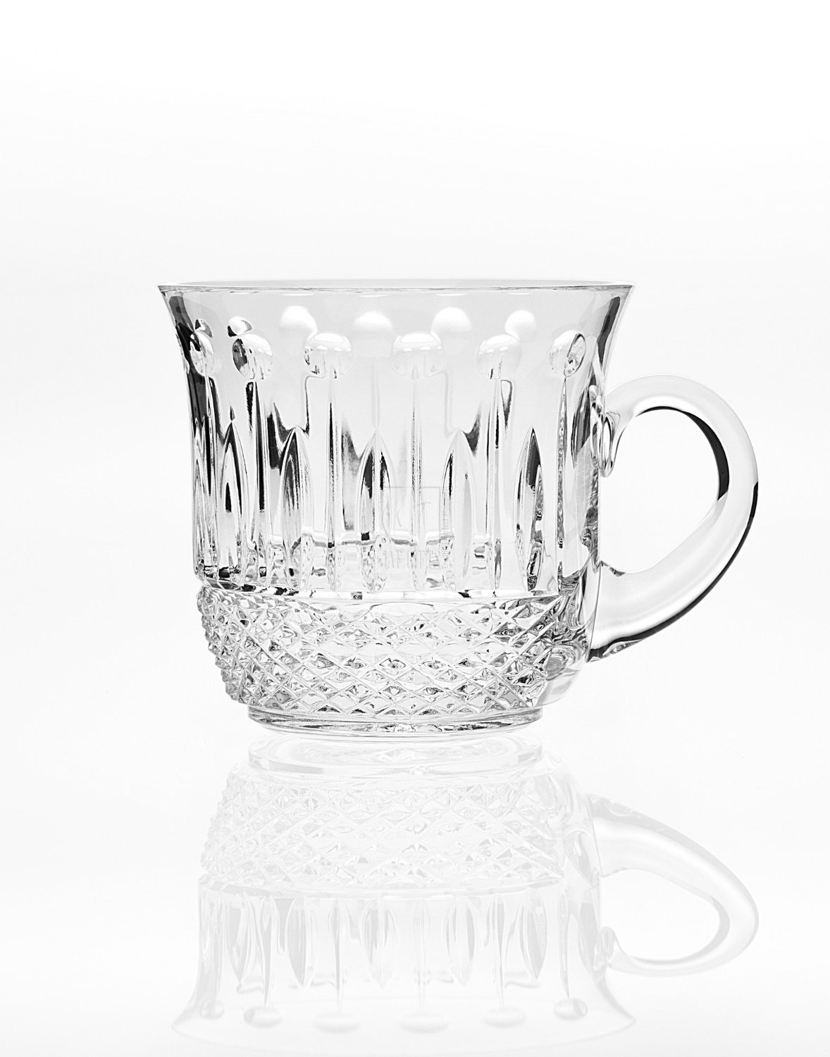 24% Crystal King Louis Punch Cup 4pc Set