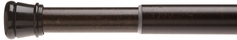 Spring Tension Rod (Chocolate Brown)