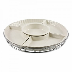 5pc Ceramic Lazy Susan