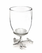 Airplane Base Wine Glass [Available November 1st]
