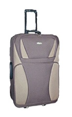 1 Piece Luggage (Brown)