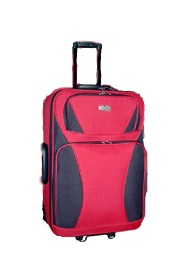 1 Piece Luggage (Red)