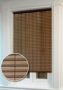 Ashland Rollup Window Blind    (Cocoa Brown and Almond)