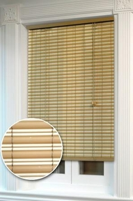 Ashland Rollup Window Blind    (Desert Sand and Almond)