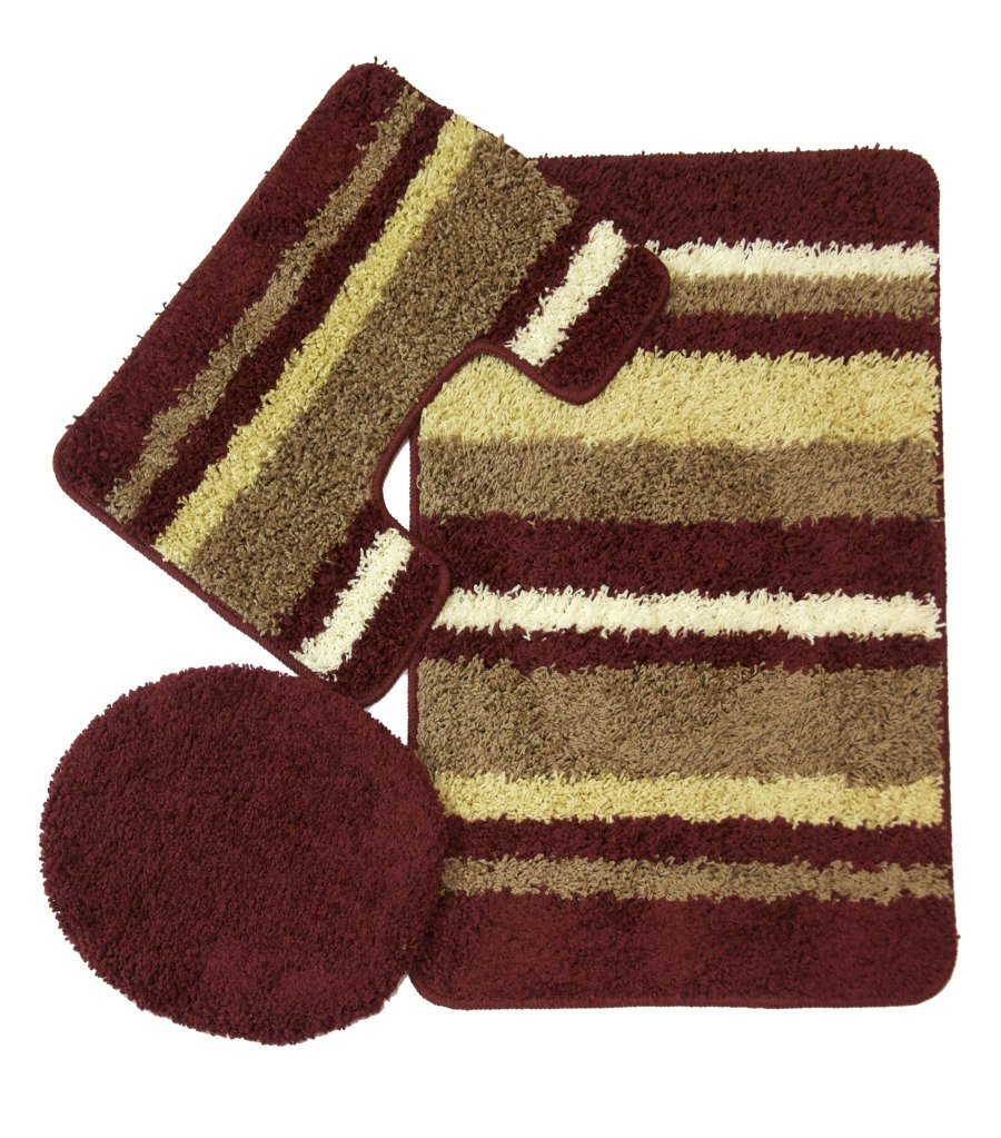 Beautiful 3 Piece Bathroom Rug Set Burgundy 900 x 1023 · 225 kB · jpeg