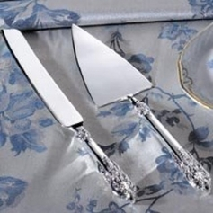 Baroque Knife & Cake Server