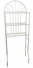 3 Tier Bathroom Space Saver (White)