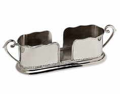 Beaded Edge Salad Flatware Caddy