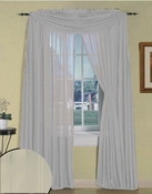 Beige Silky Stripe Sheer Panel