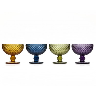 Set of 4 Belmont Dessert Bowls