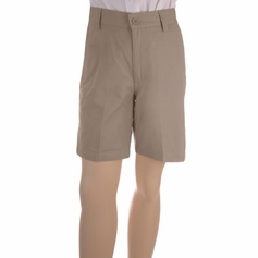 Boy's Flat Shorts (Khaki)