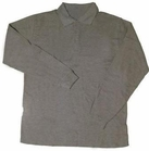 Boy's Long Sleeve Shirt (Heather Grey)