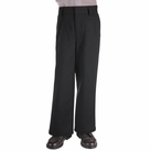Boy's Pleated Pants (Black)