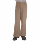 Boy's Pleated Pants (Khaki)