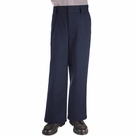 Boy's Pleated Pants (Navy)
