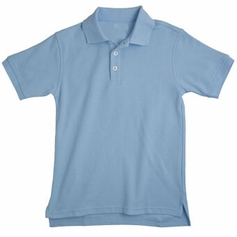 Boy's Short Sleeve Shirt (Light Blue)