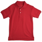 Boy's Short Sleeve Shirt (Red)