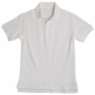 Boy's Short Sleeve Shirt (White)