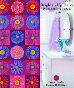 Brighten Up Daisy Shower Curtain Set