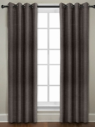 Broadway Textured Grommet Curtain (Brown)