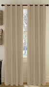 Broadway Textured Grommet Curtain (Linen)