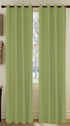 Broadway Textured Grommet Curtain (Sage)