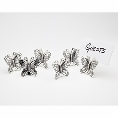 Set of 6 Butterfly Placecard Holders