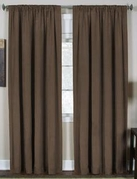 Cara Faux Silk Panel (Brown)