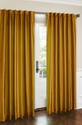Cara Faux Silk Panel (Gold)