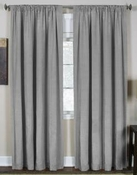 Cara Faux Silk Panel (Grey)