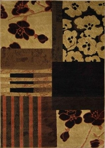 Catalina Floral Abstract  5x8 Area Rug
