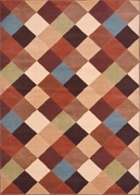 Catalina Modern Diamond Weave Area Rug