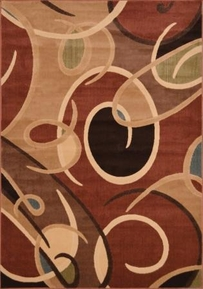 Catalina Open Circles Area Rug