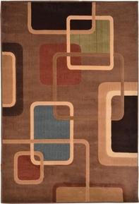Catalina Interwoven Squares Area Rug