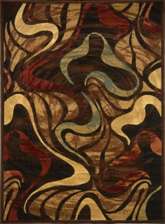 Catalina Modern Abstract 8x11 Area Rug