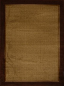 Catalina Modern Check Area Rug (Brown)
