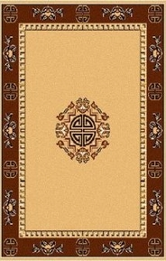 Center Key Premium 4x6 Area Rug (Sand)