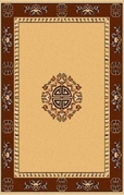 Center Key Premium 8x11 Area Rug (Sand)