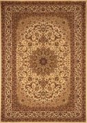 Center Scroll Regency 5x8 Area Rug (Ivory)