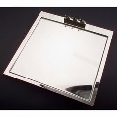 Cheese Tray with Glass Insert and Picks