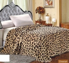 Cheetah Printed Blanket