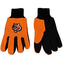 Cincinnati Bengals Two Tone Gloves