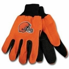 Cleveland Browns Two Tone Gloves