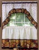 Coffee Kitchen Curtain Set