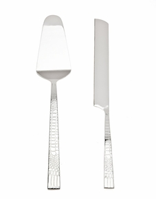 Croco Cake Knife & Server Set