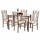 Crown 5 Piece Dinette Set