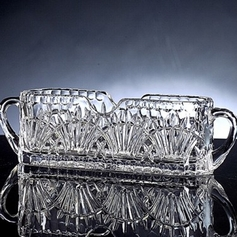 Crystal Cutlery Holder