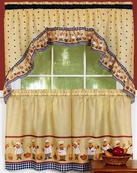 Cucina Kitchen Curtain Set