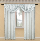 Dawson Printed Valance with Lurex Accents (Ivory)